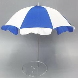 1/6 Scale Beach Umbrella Sunshade with Base for 12'' Action