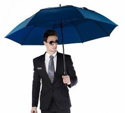 130cm Large Women Men Double Golf Rain Umbrella Windproof Um