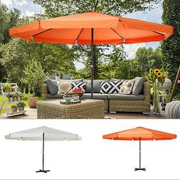 16Ft Large Size Patio Umbrella Outdoor Market Sunshade With