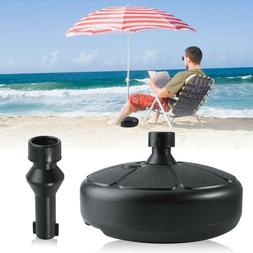 17.5'' 28 lb Umbrella Base Stand  Market Patio Yard Outdoor