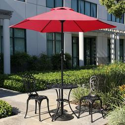 "18"" 32lb Umbrella Base Stand Market Patio Yard Outdoor Cast"