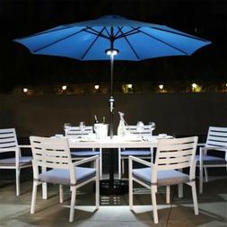 "18"" 32lbs Umbrella Base Stand Market Patio Standing Outdoor"