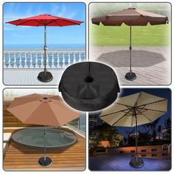 """18"""" Dia. Round Weight Sand Bag for Umbrella Base Stand Patio"""