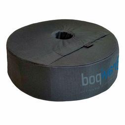 "18"" Round Umbrella Base Weight Bag - Up to 85#. Safety solut"