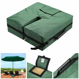 """18"""" Square Weight Sand Bag 600D Canvas for Outdoor Umbrella"""