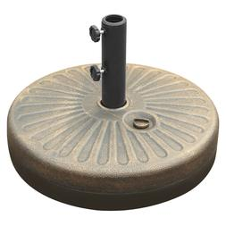 19 5 umbrella base stand round patio