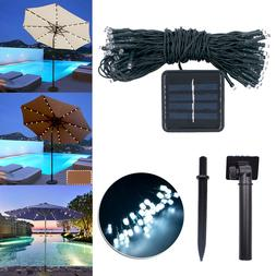 19m Umbrella LED Lamp Solar Outdoor White Light Concise LED