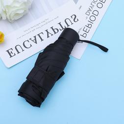 1pc Folding Umbrella Fashion Portable Anti-UV Windproof Umbr