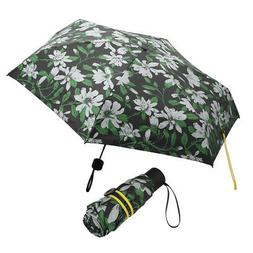 1PCS Automatic Sun Protection Lily Pattern Mini Pocket Umbre