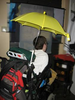 Sun Umbrella with clamp for Strollers, Wagons, Lawn Chairs -