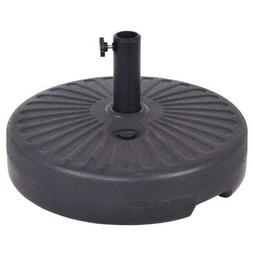 "20"" Round 23L Water Filled Umbrella Base Stand Self-filled P"