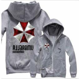 2018New Resident Evil 6 Umbrella Corporation Hoodie Sweater Cosplay Jacket Coat