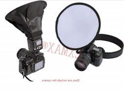 20cm Round Flash Umbrella Softbox Diffuser Speedlight Studio