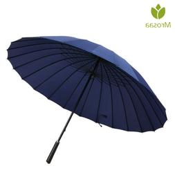 Mrosaa 24 Ribs Automatic Open Golf <font><b>Umbrella</b></fo