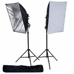 """27"""" x 20"""" Black Silver Photography Video Studio Umbrella Con"""