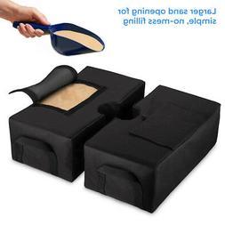 2x Detachable Umbrella Base Weight 600D Oxford Cloth Cantile