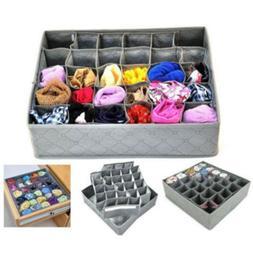 30 Bamboo Charcoal Underwear Ties Sock Drawer Closet Organiz