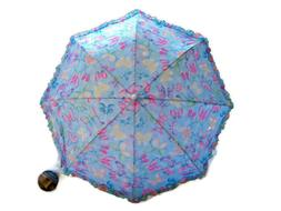 "32"" Children Kid Butterfly Print Umbrella - RainStoppers R"