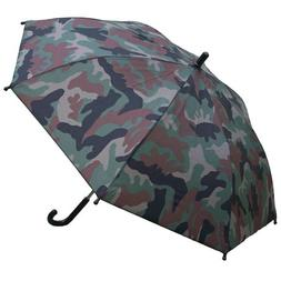 "32"" Children Kid Camo Print Umbrella - RainStoppers Rain/S"