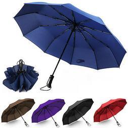46 inch Umbrella10 Ribs Automatic Open/Close Compact Windpro