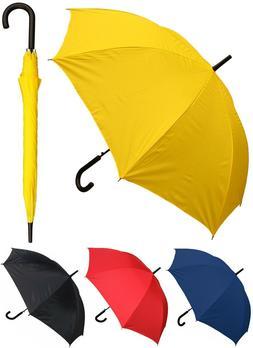 48 arc doorman black handle umbrella rain