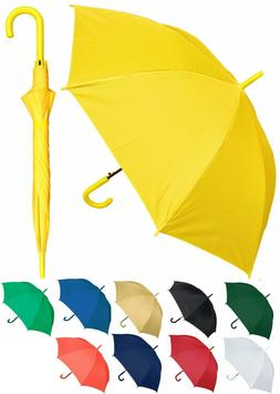 "48"" Arc Doorman, Matching Hook Umbrella - RainStoppers Rain/"