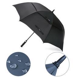 50/68''Women Men Automatic Open Golf Umbrella Double Large C