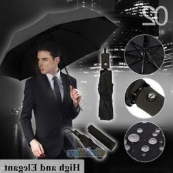 50+ Anti-UV Sun Rain Protection Windproof 3 Folding Umbrella