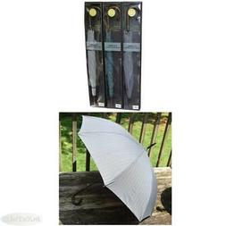 "50"" Auto Open Classic Italian Wood Stick Umbrella NIB Choose"