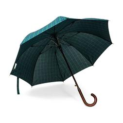 Classic Wood Stick Umbrella 50in 100% Italian Wood Handle -A