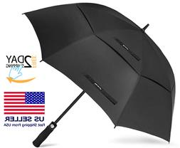 "54/62/68"" Automatic Open Golf Umbrella Extra Large Oversize"