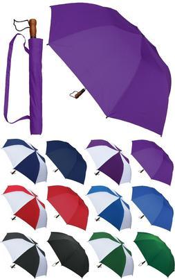 "58"" Arc Collapsible Golf Umbrella - RainStoppers Rain/Sun"