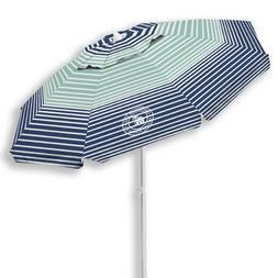 Caribbean Joe 6.5 Ft. Beach Umbrella with UV multiple colors