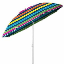 Caribbean Joe 6 ft. Beach Umbrella with Carry Case