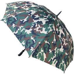 60?? Arc Camouflage Umbrella - RainStoppers Rain/Sun UV Camo
