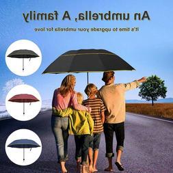 """60"""" Extra Large Golf Umbrella Oversize Sun Rain Windproof Fo"""