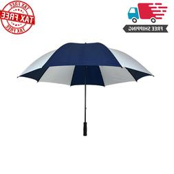 West Chester 60-in Blue and White Golf Umbrella