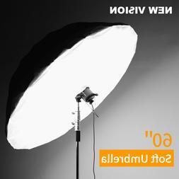 Godox 60 inch Black White Studio Reflective Umbrella with La