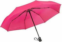 "60 MPH Windproof Travel Umbrellas ""Guaranteed Lifetime Repla"