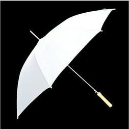"60"" New White Wedding Umbrella also Photography Golf Rain 17"