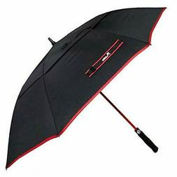 """Midier 60"""" RED Automatic Open Golf Umbrella Windproof Double"""