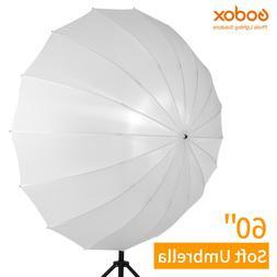 Godox 60 White Studio Translucent Soft Umbrella with Large D