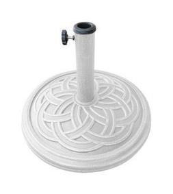Bond 60478A Gaelen Umbrella Base, 12kg, White