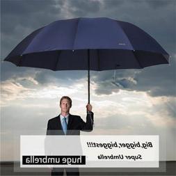 60inch Top Quality Oversize Anti-UV Rain Umbrella Men/Women