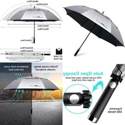 G4Free 62/68 Inch Uv Protection Golf Umbrella Auto O
