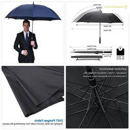 G4Free 62/68Inch Automatic Open Golf Umbrella Extra Large Wi