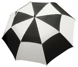 "62"" Double Canopy Golf Umbrellas - Available in Various Colo"