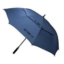 62 Inch Automatic Open Golf Umbrella Extra Large Oversize Do
