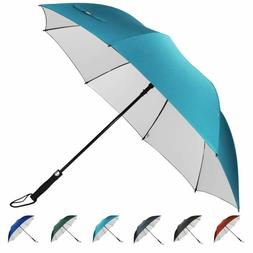 G4Free 62 Inch Windproof Uv Golf Umbrella Extra Large Automa