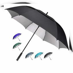 G4Free 68 inch Extra Large Golf Umbrella UV Protection Windp